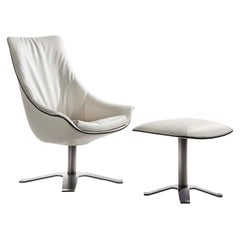 Lullaby White Armchair