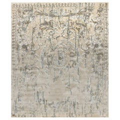Hand Knotted - Silk rug - Lully Shore, Edition Bougainville