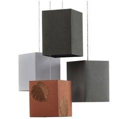L'Ultima Foglia Four-Light Pendant Lamp