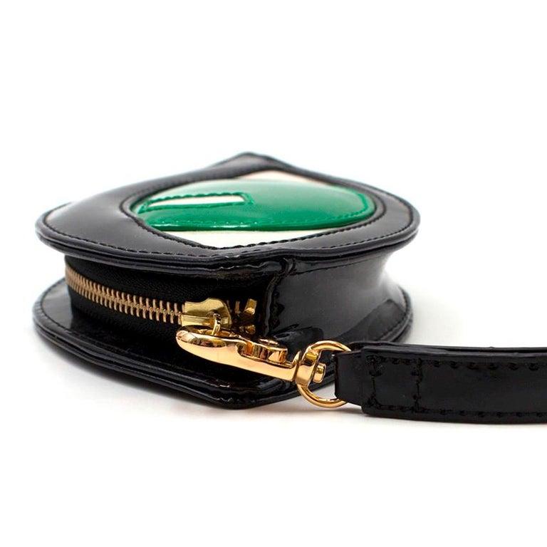 Lulu Guinness Emerald Eye Clutch For Sale 5