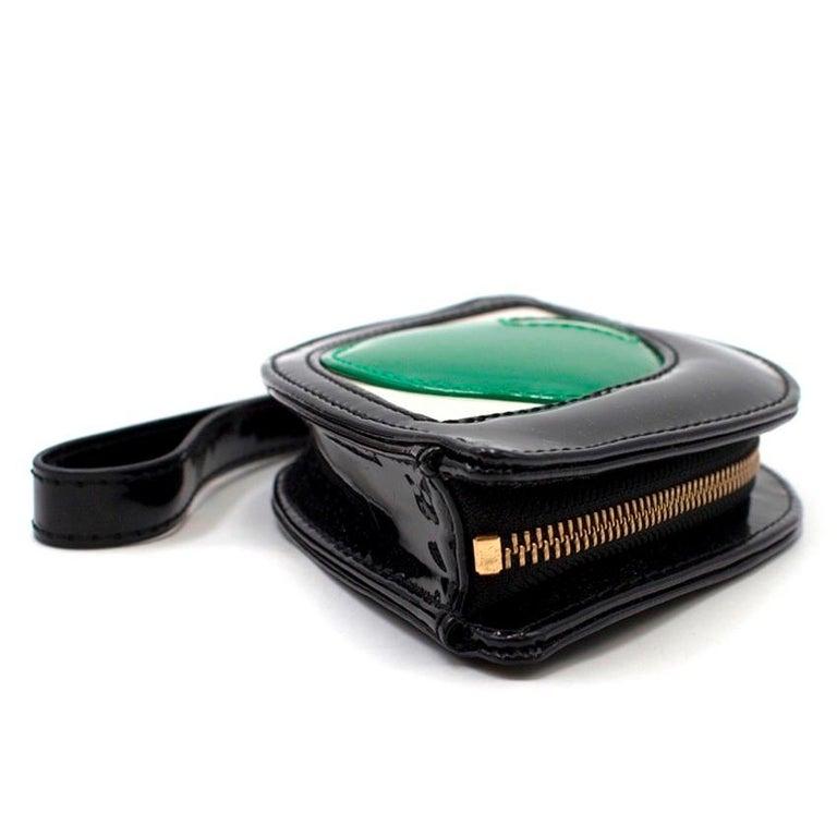 Lulu Guinness Emerald Eye Clutch For Sale 3