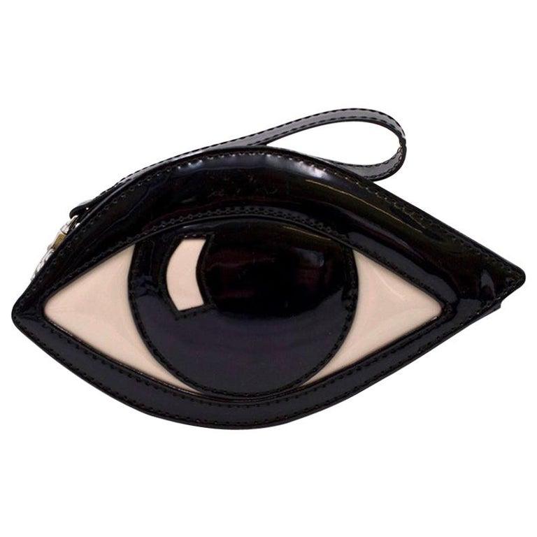 Lulu Guinness Eye Clutch For Sale