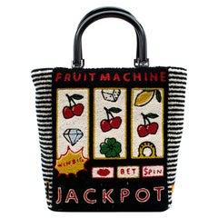 Lulu Guinness Jackpot Bibi Tote Bag 20cm