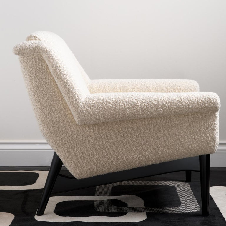 Lulu White Small Armchair by Dom Edizioni For Sale at 1stdibs