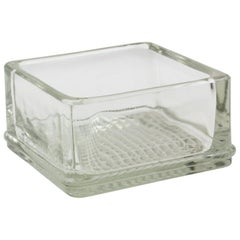 Lumax Molded Glass Ashtray Catchall, Design Le Corbusier