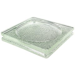 Lumax Nevada Glass Desk Tidy Catchall Ashtray by Le Corbusier
