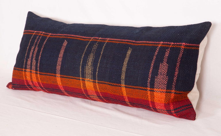 Lumbar Pillow Case Fashioned from a Mid-20th Century Anatolian Cover In Good Condition For Sale In Istanbul, TR