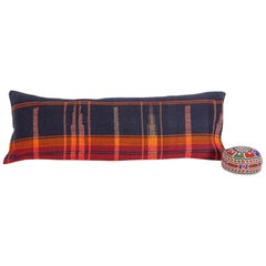 Lumbar Pillow Case Fashioned from a Mid-20th Century Anatolian Cover