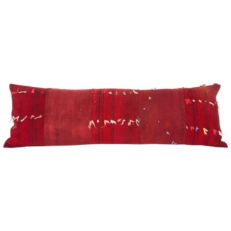 Lumbar Pillow Case Fashioned from a Mid-20th Century Anatolian Cover For Sale