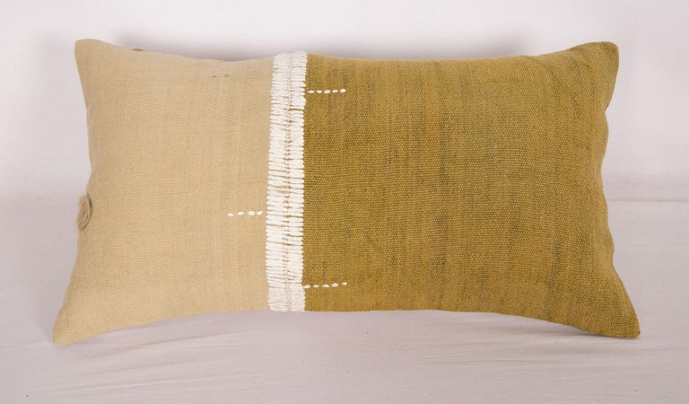 Kilim Lumbar Pillowcases Made from an Eastern Anatolian Perde 'Cover' Mid-20th Century For Sale