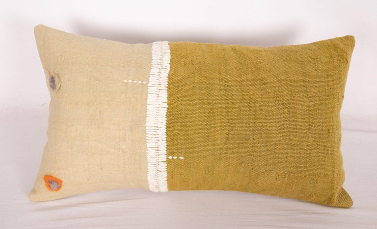 Turkish Lumbar Pillowcases Made from an Eastern Anatolian Perde 'Cover' Mid-20th Century For Sale