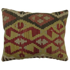 Lumbar Size Turkish Kilim Pillow