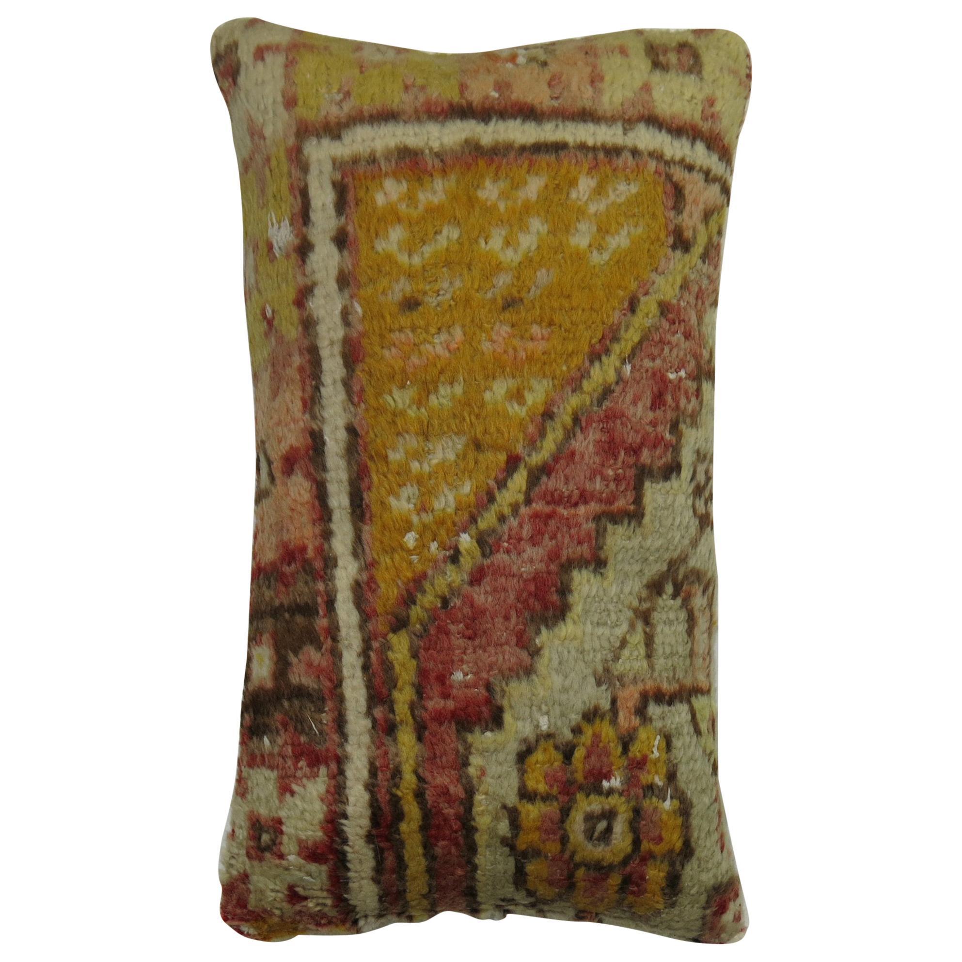 Lumbar Turkish Rug Pillow