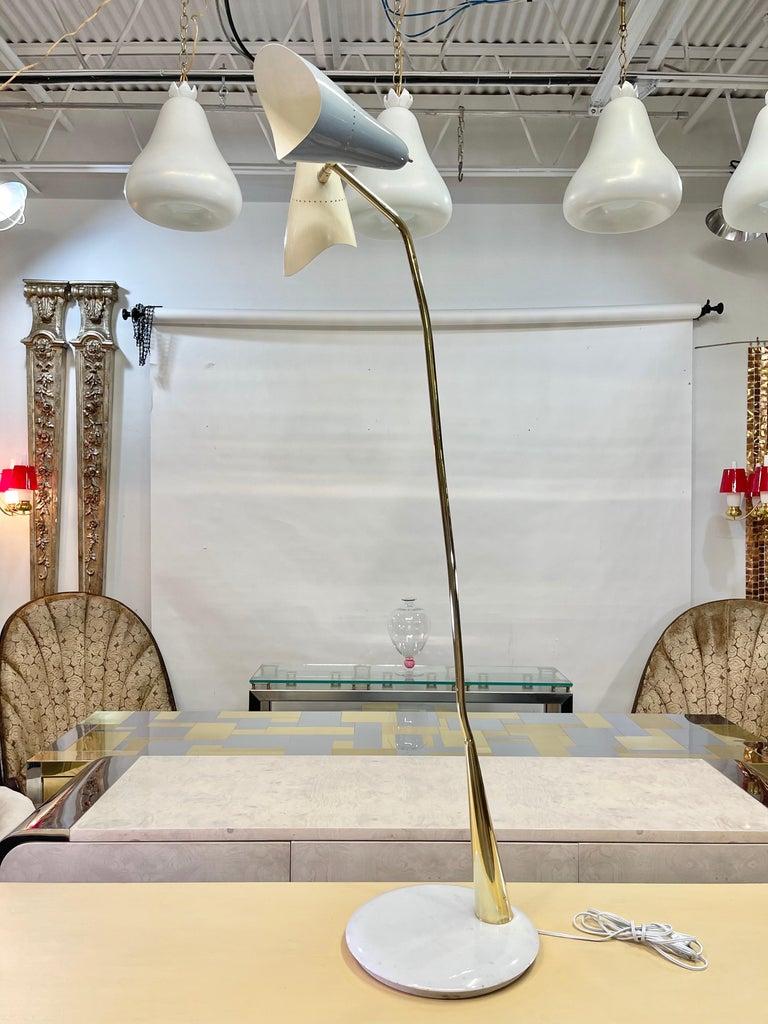 Lumen Milano 1950s Floor Lamp by Oscar Torlasco For Sale 7