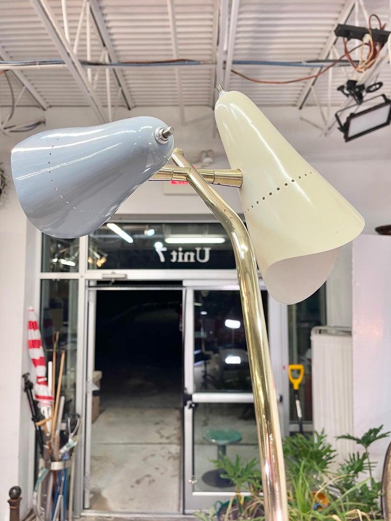 Lumen Milano 1950s Floor Lamp by Oscar Torlasco For Sale 9