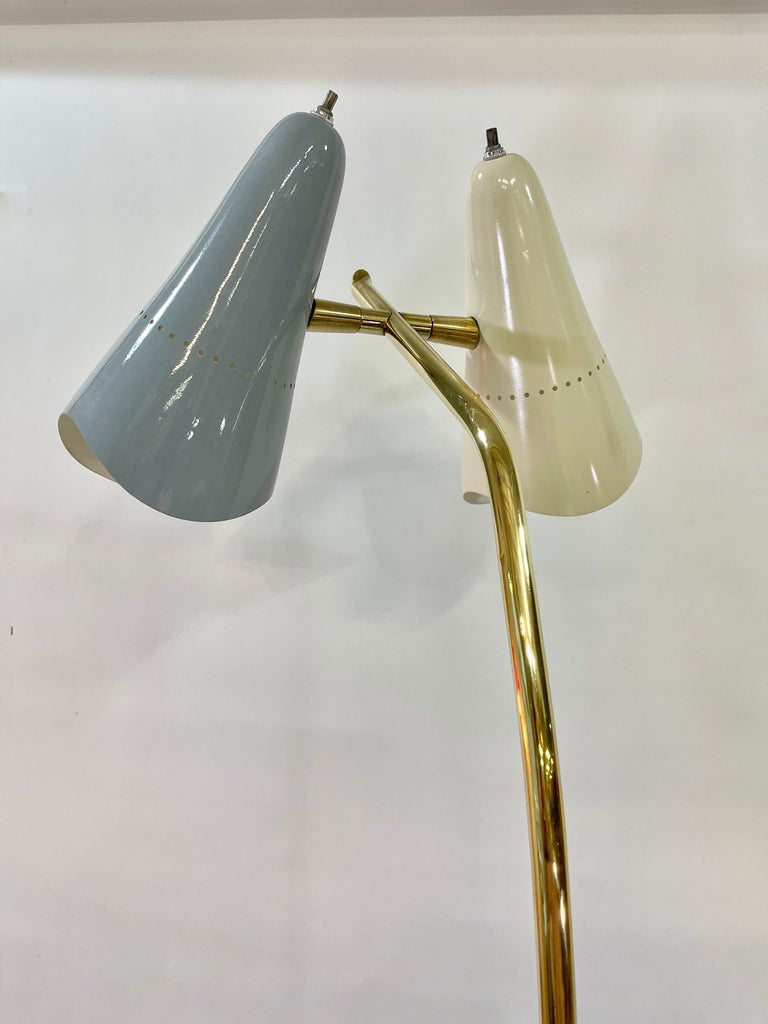 Italian Lumen Milano 1950s Floor Lamp by Oscar Torlasco For Sale