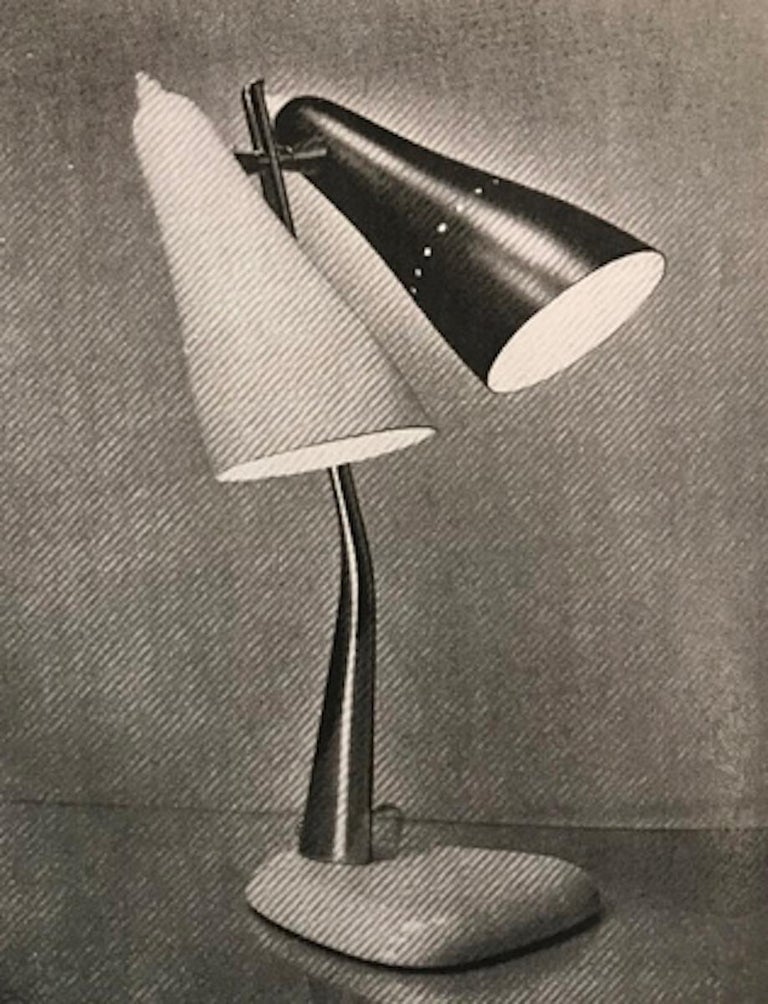 Lumen Milano 1950s Floor Lamp by Oscar Torlasco For Sale 1