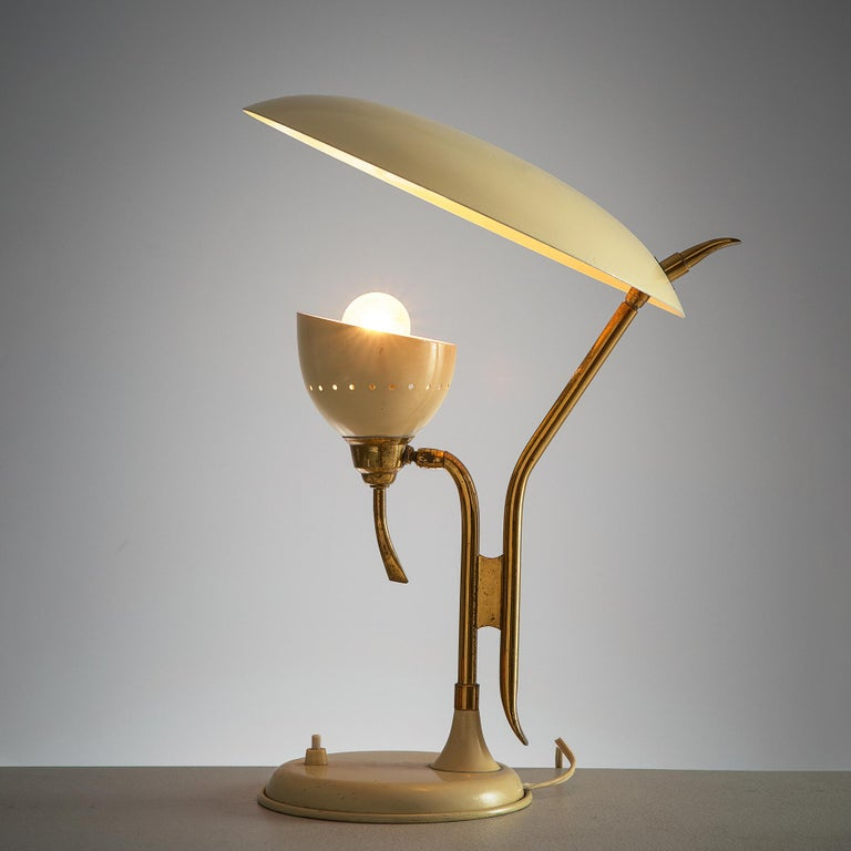 Mid-20th Century Lumen Milano Table Lamp, 1950s For Sale