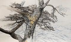 Memory V – Izu Pine Tree, Japanese Painting