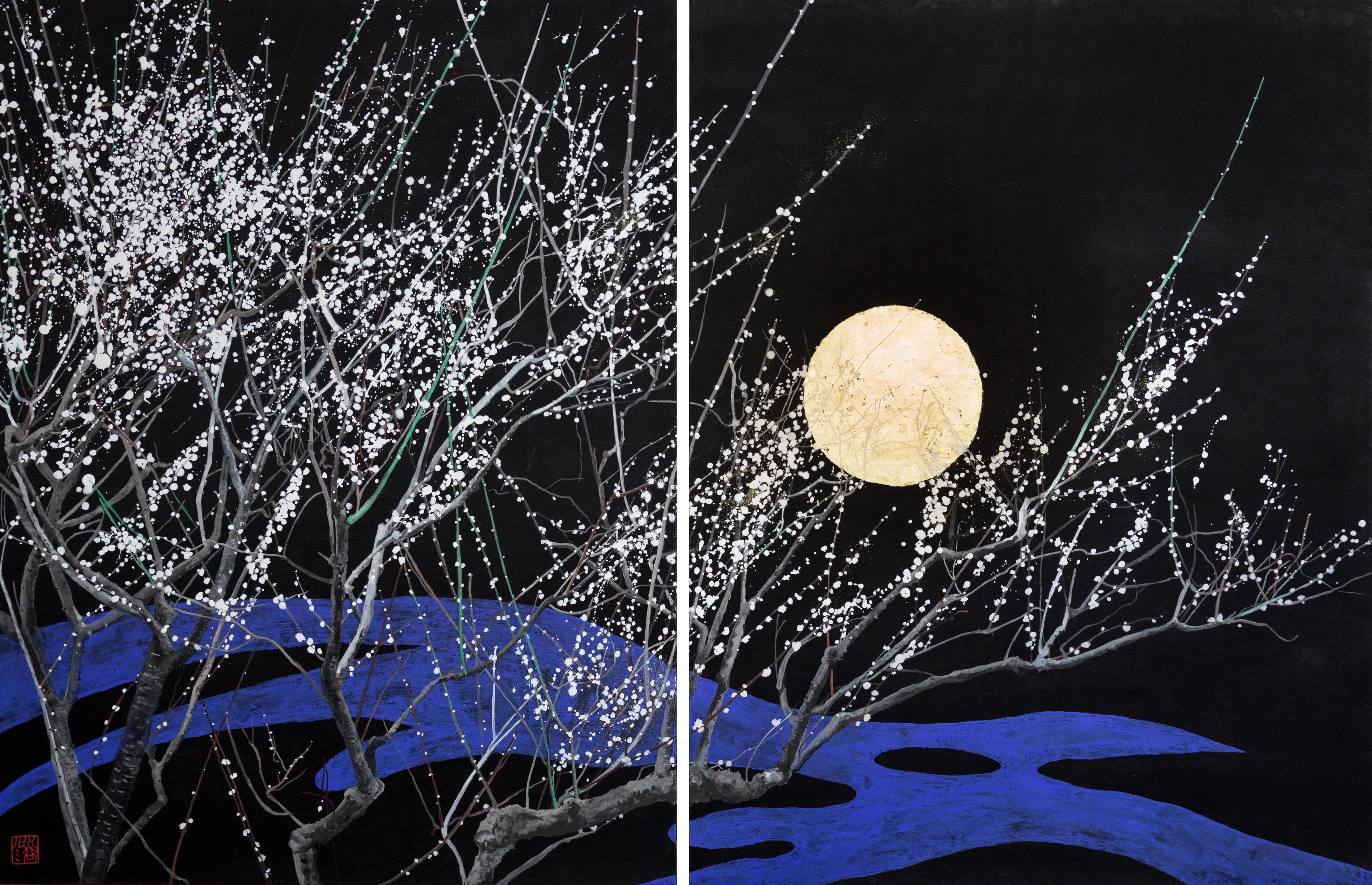 Nocturn IV, Japanese Painting