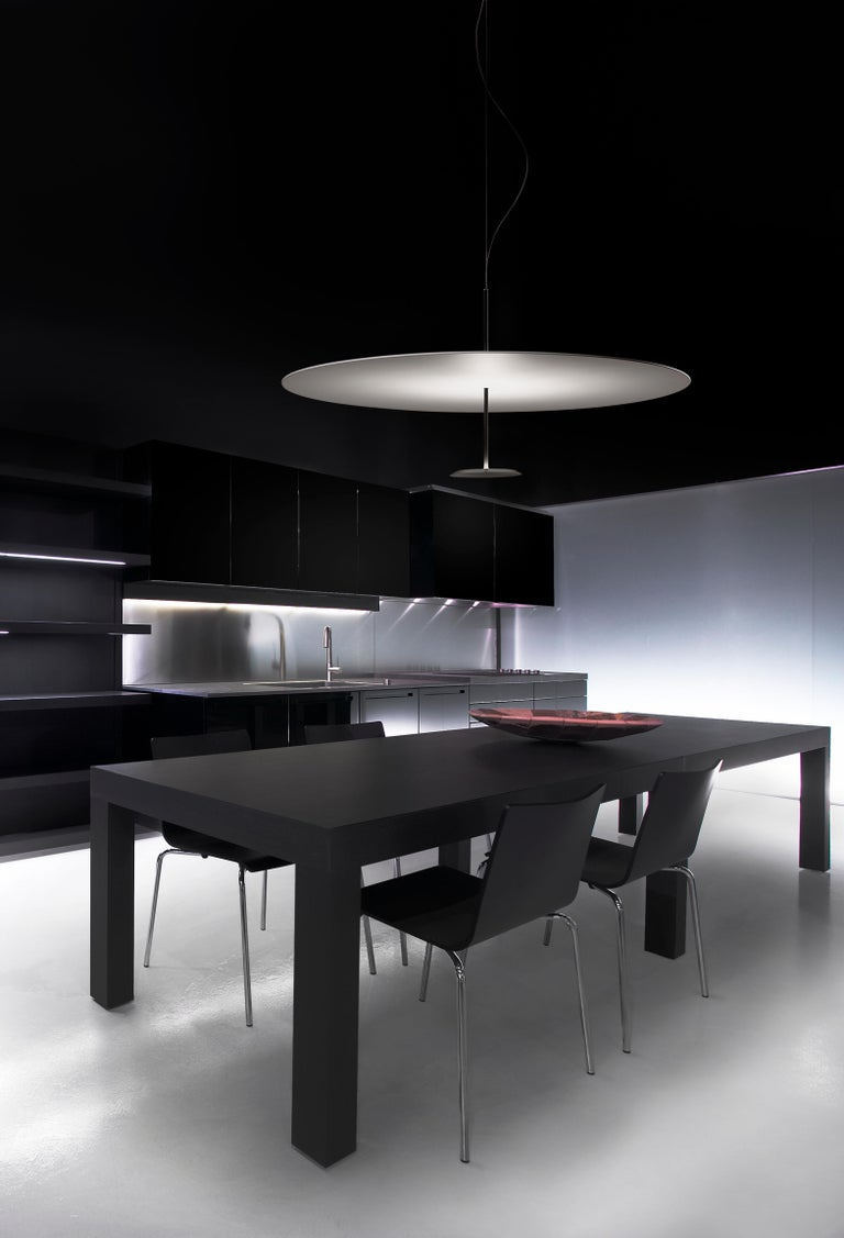 Modern Lumina Dot Large Pendant Light in Black by Foster+Partners For Sale