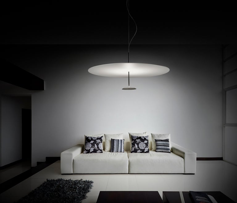 Lumina Dot Large Pendant Light in Black by Foster+Partners In New Condition For Sale In New York, NY