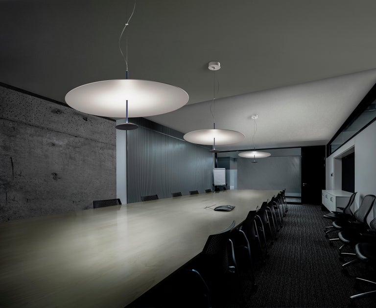 Italian Lumina Dot Small Pendant Light in Black by Foster+Partners For Sale