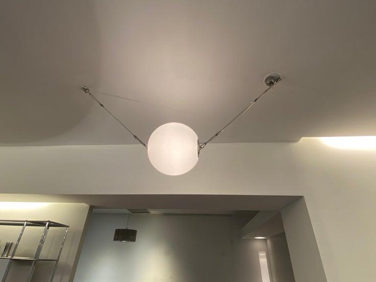 Italian Lumina Set of Three Perla 35 Pendant Lamps For Sale