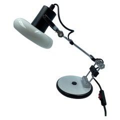 Luminaires NF Desk Lamp, Industrial, 1970's