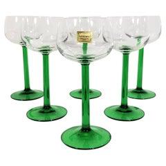 Luminarc Glassware Stemware France Mid Century Set of 6