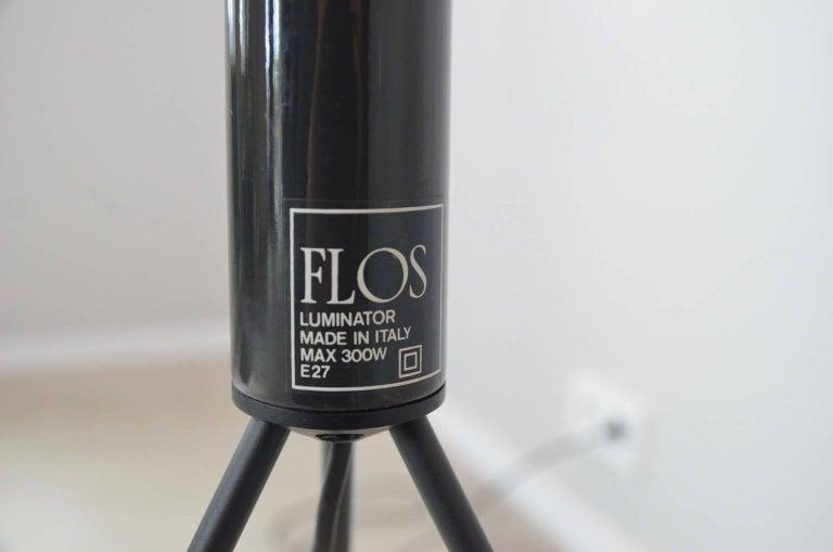 Italian Luminator Floor Lamp by Pier & Achille Giacomo Castiglioni for Flos For Sale