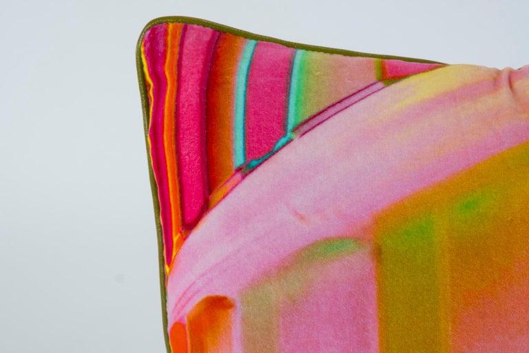 American Luna Art Photography Velvet Pillow by Vandertol Studios For Sale