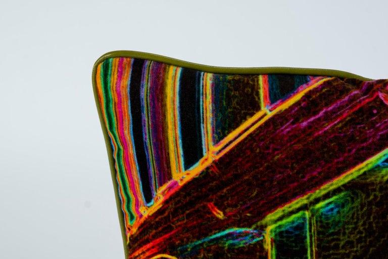 Luna Art Photography Velvet Pillow by Vandertol Studios For Sale 1