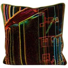 Luna Art Photography Velvet Pillow by Vandertol Studios