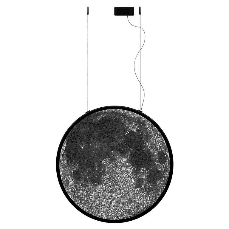 Luna Caduta Mosaic Pendant Lamp by Andrea Radice For Sale