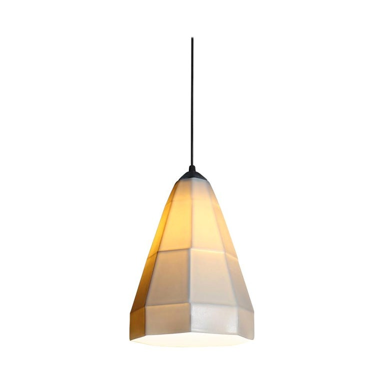11 Inch Hanging Pendant Light From the Expansion collection, the cone shape of the Expansion 1 pendant spreads white, direct light downward while the shade emits a glow at eye level. Perfect for handing over a dining booth in a home or