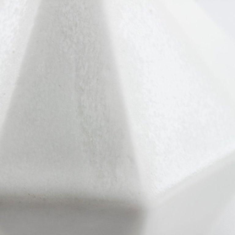 Metal Luna Modern Contemporary Hanging Pendant Cluster White Translucent Porcelain For Sale