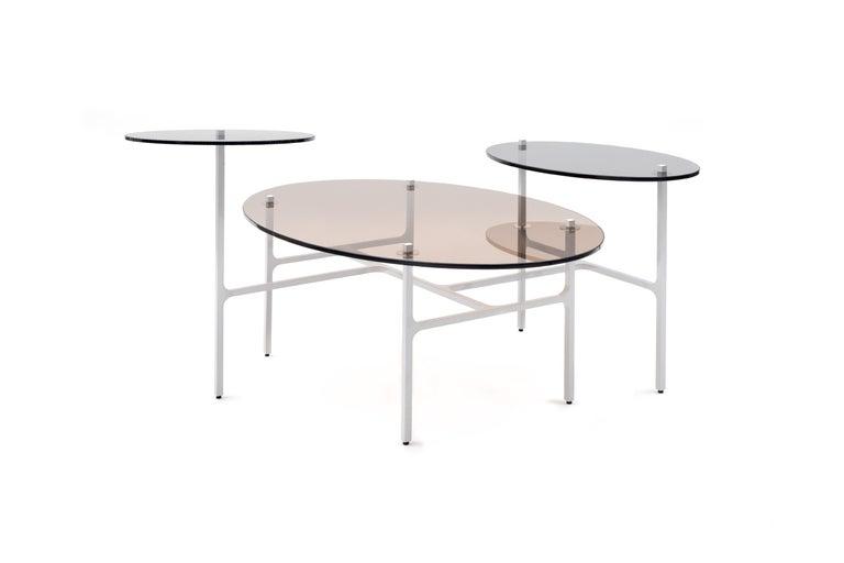Modern LUNA Nesting Table For Sale