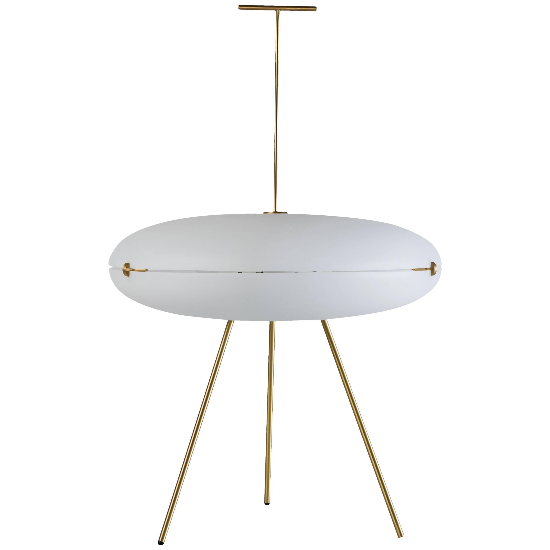 Luna Orizzontale Floor Lamp by Gio Ponti