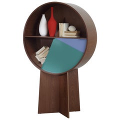 Luna Walnut Cabinet by Patricia Urquiola