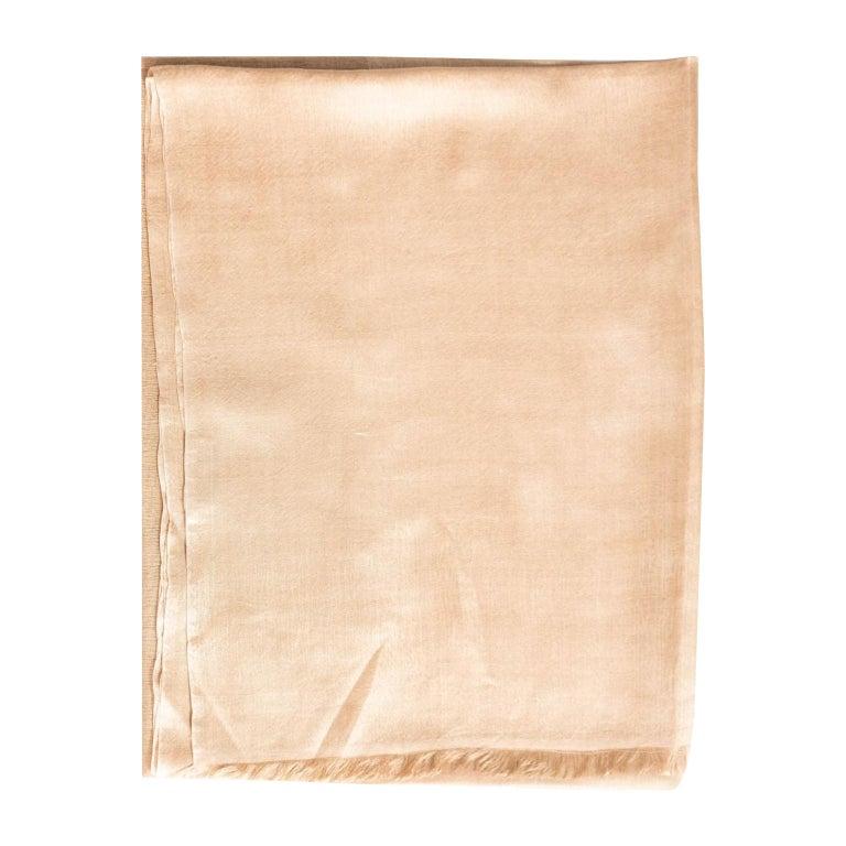 LUNAR Cashmere Scarf / Wrap For Sale