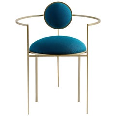 Lunar Chair in Blue by Lara Bohinc