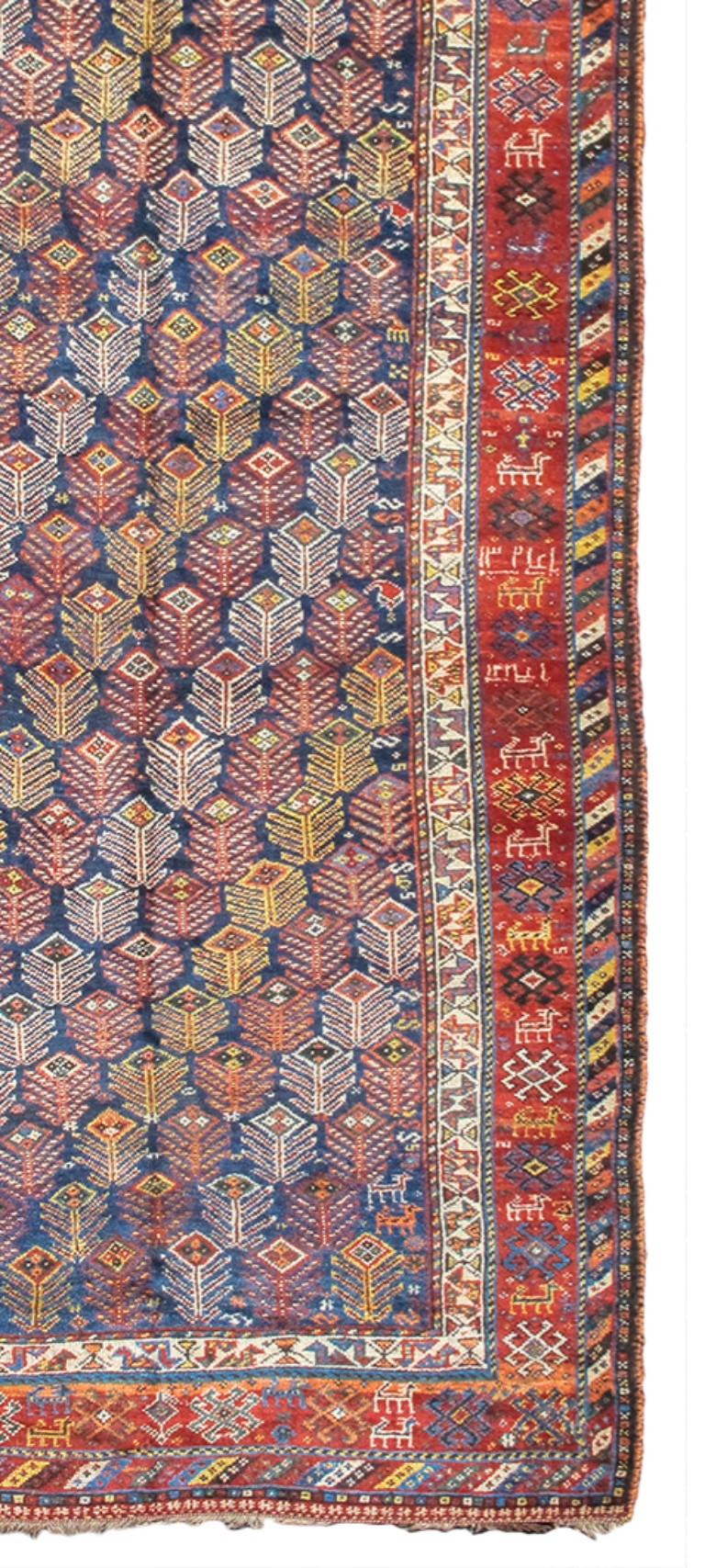 Hand-Knotted Luri Long rug For Sale