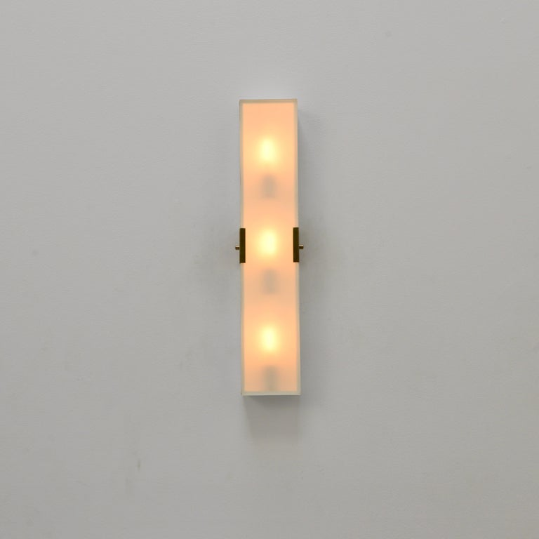 LUsquare Sconce RT 'White' For Sale 2