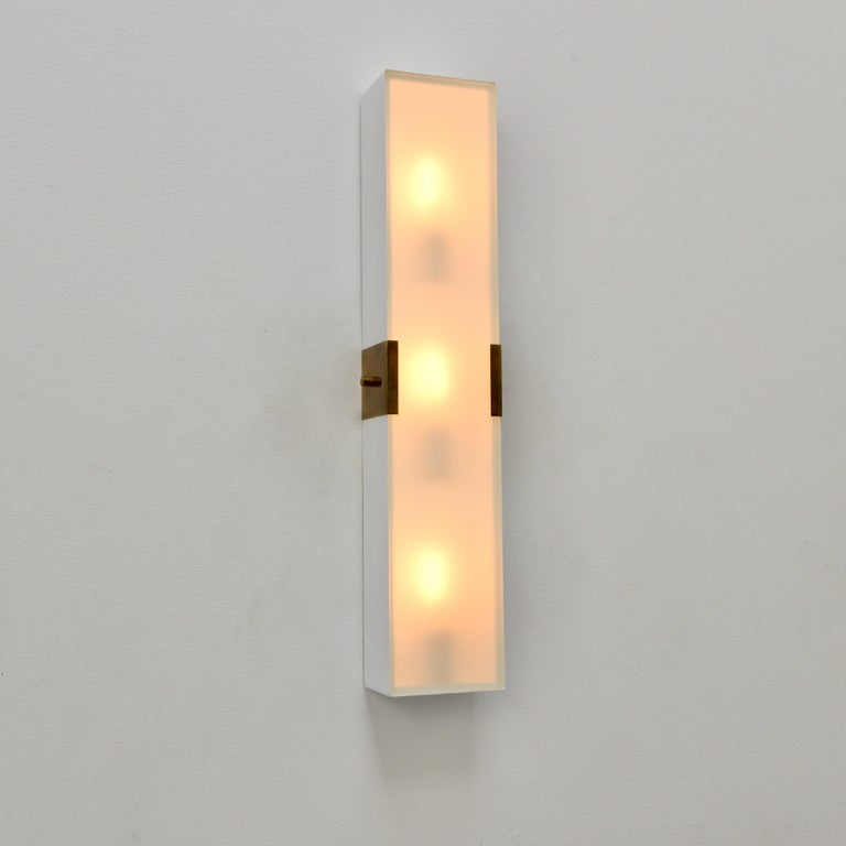 LUsquare Sconce RT 'White' For Sale 3