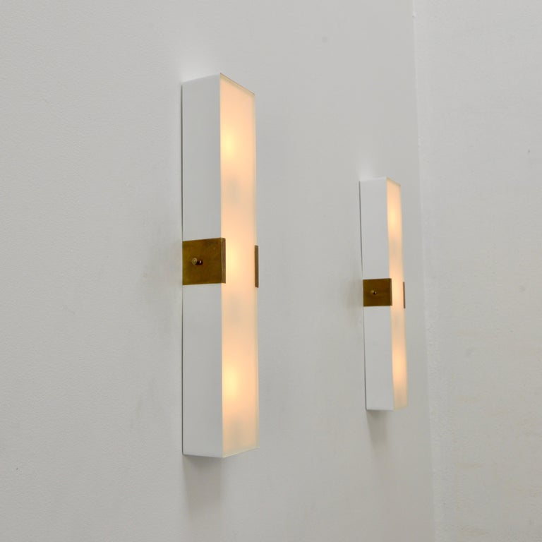 LUsquare Sconce RT 'White' For Sale 4