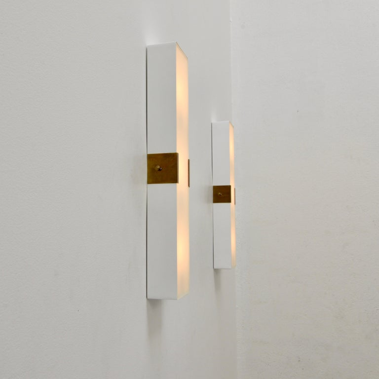 LUsquare Sconce RT 'White' For Sale 5