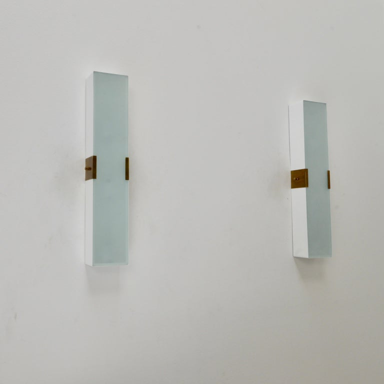 LUsquare Sconce RT 'White' For Sale 7