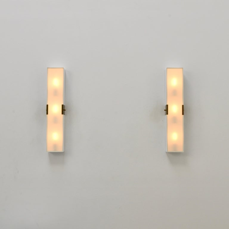 LUsquare Sconce RT 'White' For Sale 1