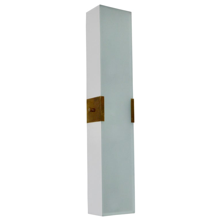 LUsquare Sconce RT 'White' For Sale